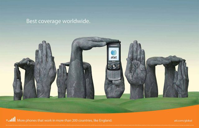 AT&T-Angleterre