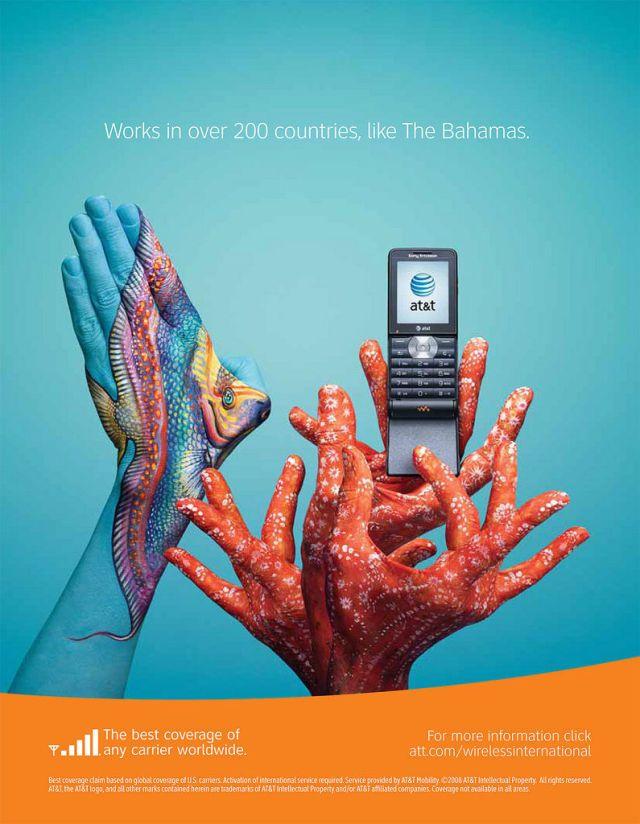ATT Bahamas - AT&T et la communication visuelle par les mains