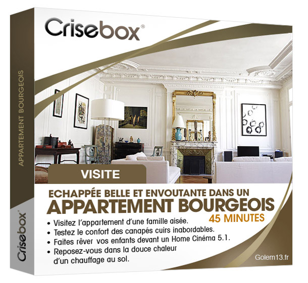 Crisebox Appartement Bourgeois
