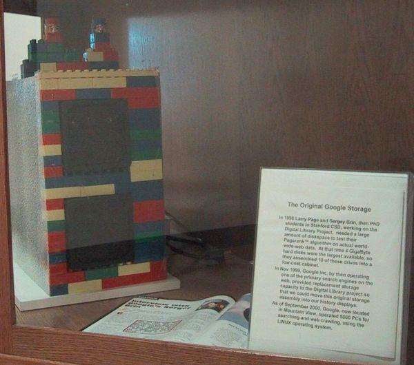Serveur de stockage de Google tout en Lego