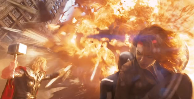 Trailer officiel du film The Avengers Assemble de Marvel 1