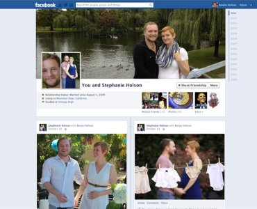 Les couples ont désormais leur page Facebook