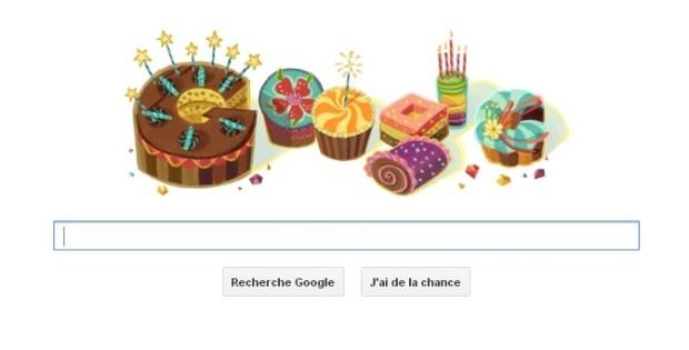 Google vous souhaite votre anniversaire !