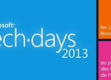 Vidéo TechDays Microsoft : Solutions Email Marketing et Mobilité dans Dynamics CRM 3