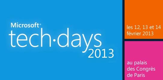 Vidéo TechDays Microsoft : Solutions Email Marketing et Mobilité dans Dynamics CRM 1