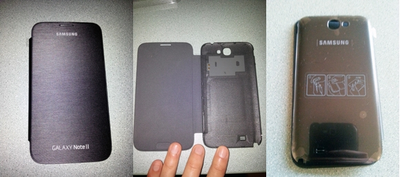 Samsung Flip Cover pour Samsung Galaxy Note 2