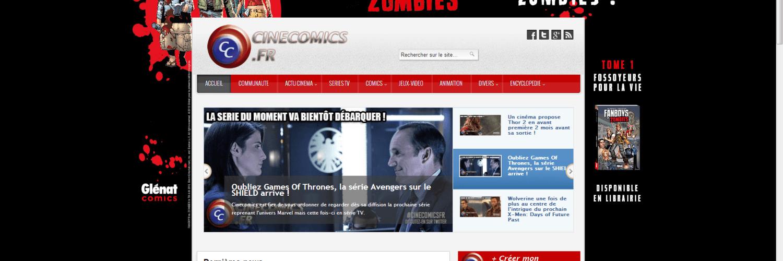 CineComics.fr : Le site des super-héros 1