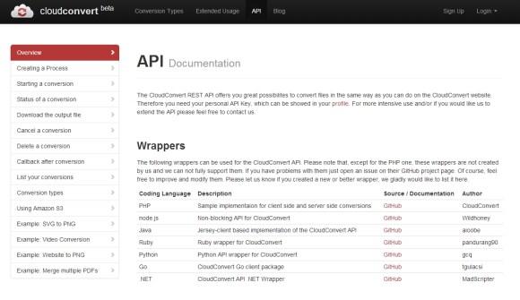 CloudConvert API