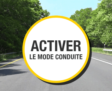 """mode conduite activation - Sécurité routière : conduisez serein avec l'application mobile """"Mode conduite"""""""