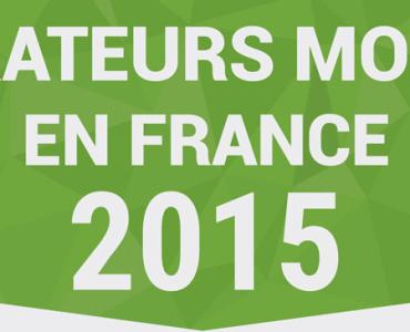 Infographie : les chiffres clés des opérateurs mobiles en France (2015)