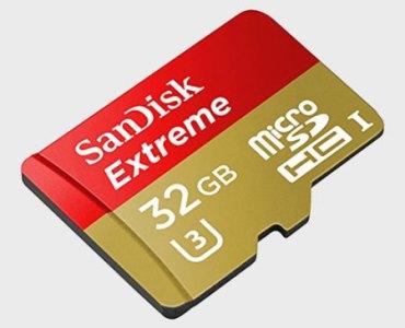 Test de la carte micro SDHC SanDisk Extreme avec adaptateur de 32Go 3