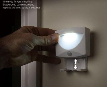 lampe led easy mounting - Test de la lampe de nuit à LED AGL avec détecteur de mouvements