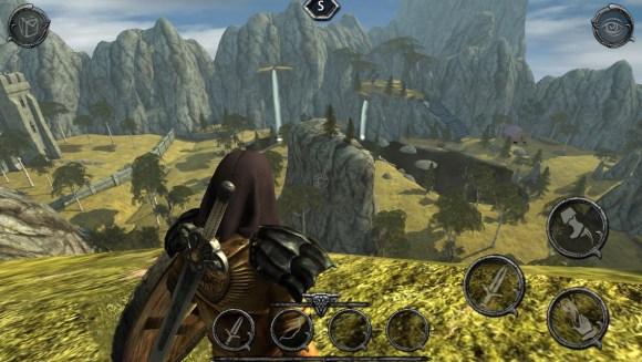 Ravensword : Shadowlands et ses décors plutôt riches.