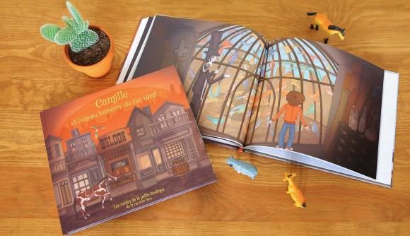 Un livre enfant personnalisé, c'est une porte d'entrée dans un univers où l'enfant est maître de ses émotions !