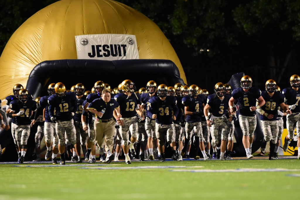 Jesuit Maintains First Half Lead To Defeat Rivals Strake