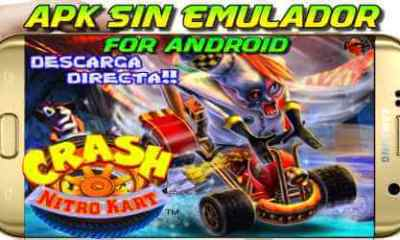 Crash Nitro Kart Apk descarga en Android sin emulador
