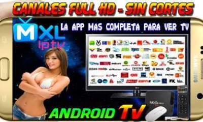 MXL IPTV Aplicación Android
