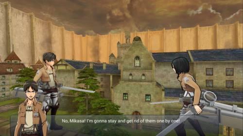 Shingeki no kyojin Assault