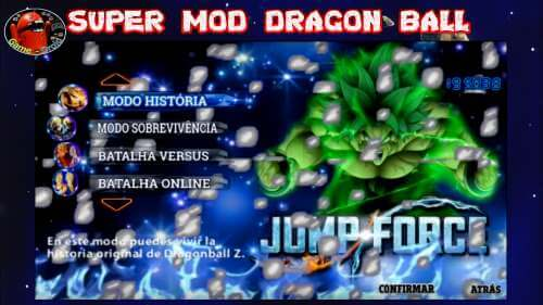 Dragon Ball TTT Mod Jump Stars