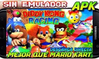Kart Racing Kong 64 descarga