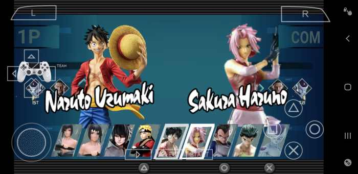 Jump Force Mod Android