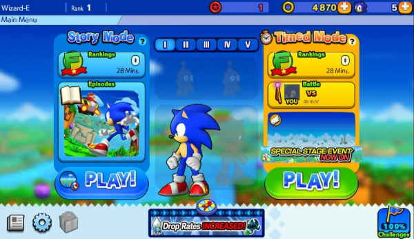Sonic Runners Revivals apk
