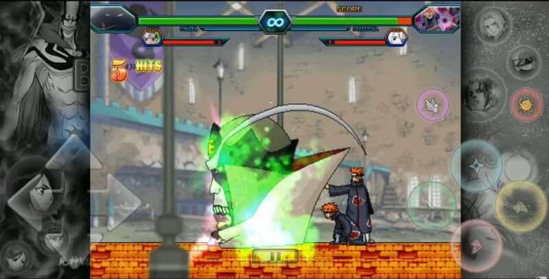 Nuevo Bleach vs Naruto Mugen