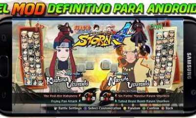 El mejor mod Naruto