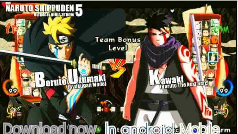 Ultimate Ninja Storm 5 nuevo Mod