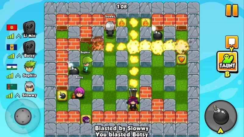 Bomber Friend Apk mod Unlocked