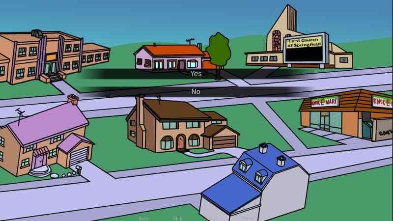 Los Simpson the ville