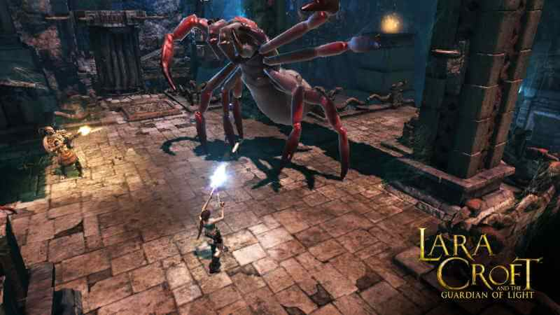 Lara Croft Light Guardian Remastered