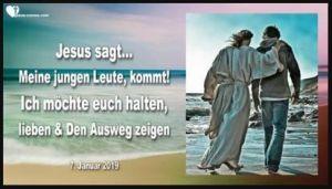 Jesus an die jungen leute