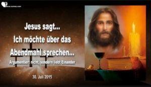 Abendmahl Jesu