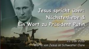 Jesus spricht über Nächstenliebe