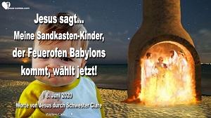 Jesus durch Schwester Clare