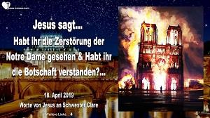 Zerstörung der Notre Dame