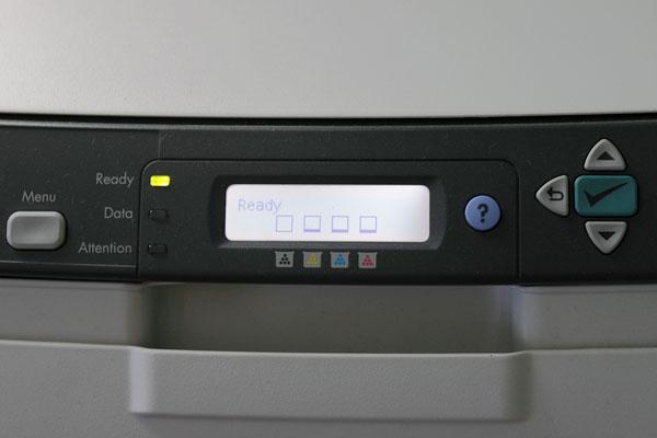 Jesus loves color laser printers :)