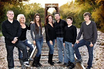 As featured on the Jesus Calling podcast - John Stewart Hill and his family