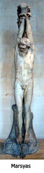 Marsyas korsfäst