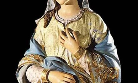 María y el Adviento.