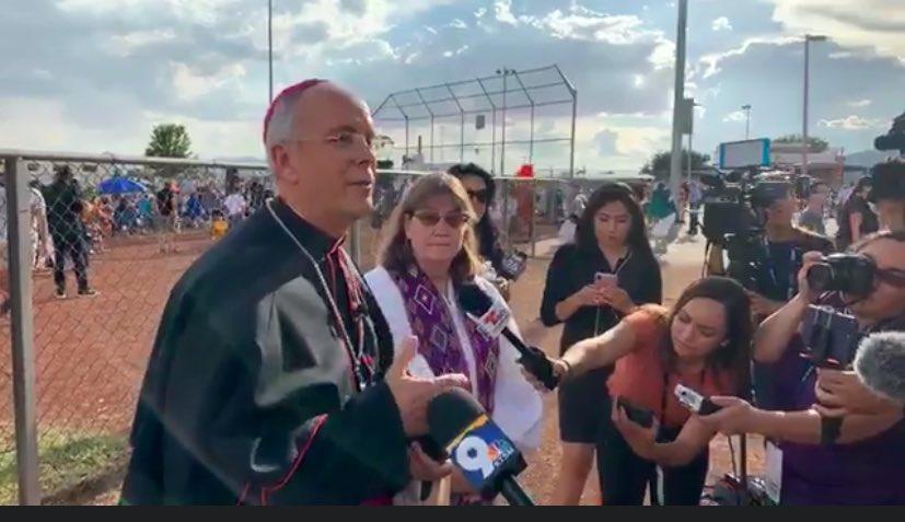 Declaración del obispo Mark J. Seitz sobre el tiroteo en El Paso