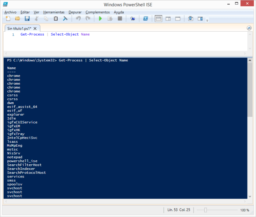 get-process-select-object-name-powershell-windows