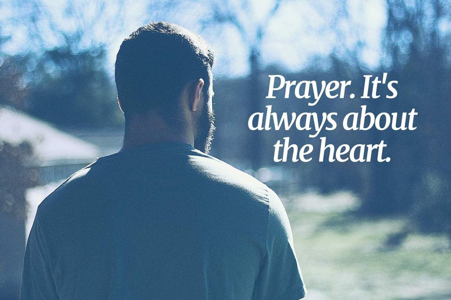 man prayer blog