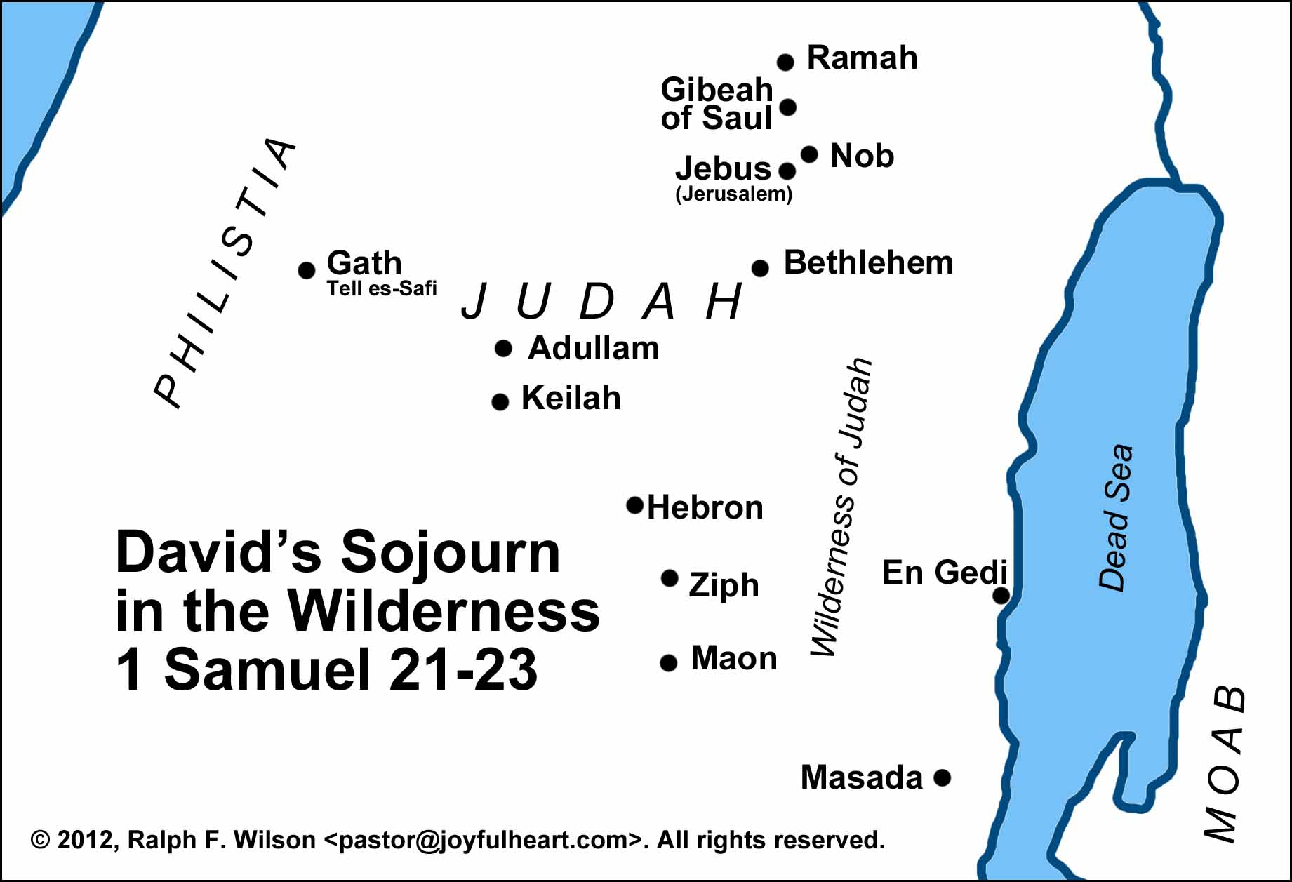 Life Of David Maps And Graphics