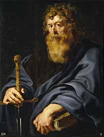 The Apostle Paul with Sword