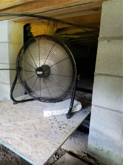 crawl space fan