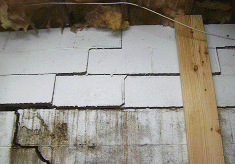 Basement Cracks