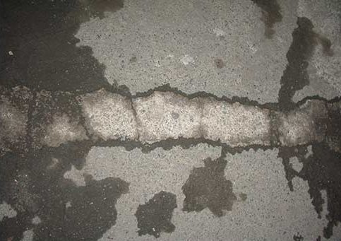 Leaking Basement Floor Cracks & Repair