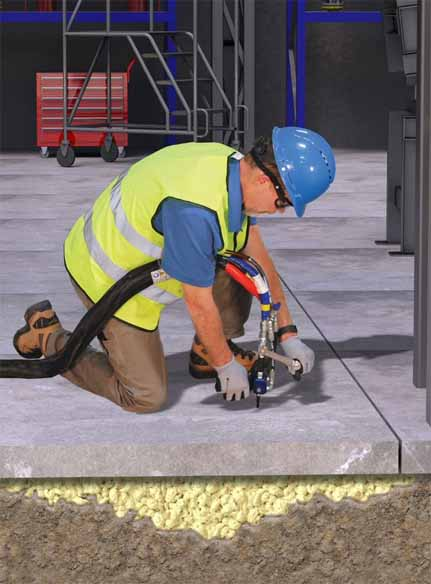 how concrete lifting works
